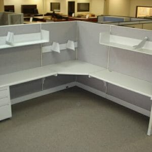 used office cubicles