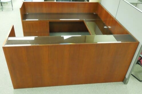 used reception desk